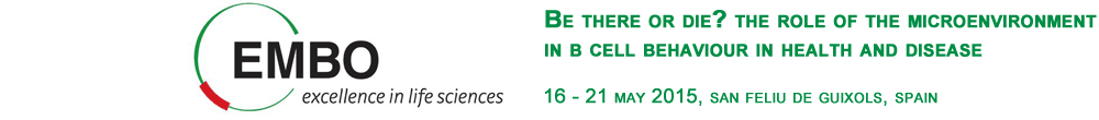 Be There Or Die? The Role Of The Microenvironment In B Cell Behaviour In Health And Disease, 16-21 May 2015, San Feliu de Guixols, Spain